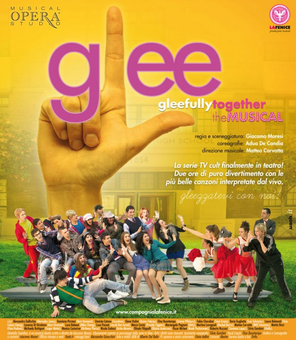 """Glee """"Gleefully Together"""" il musical all'Arena"""