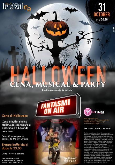 Fantasmi On Air ad Halloween –  Azalee Villa Taunus Numana