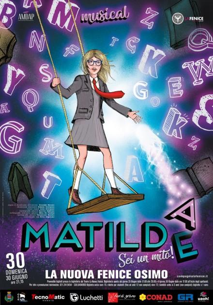 """A """"La Nuove Fenice"""" di Osimo arriva Matilde, il musical della Compagnia La Fenice"""